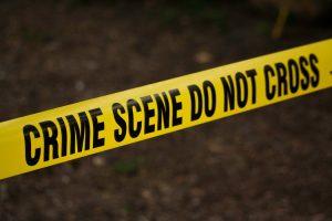 Crime Scene yellow ribbon