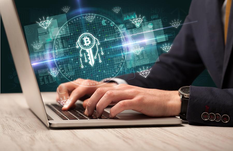 Blockchain development Sydney expert working