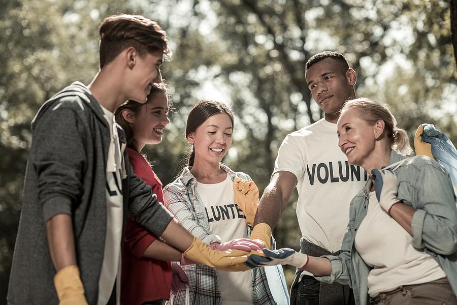 Non profit organization volunteers